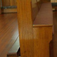 30 Antique Oak Pews St. Joseph's