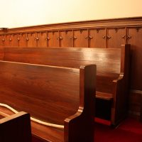 Three Wooden Church Pews Available in Stamford, CT