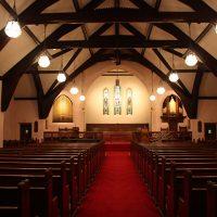 Beautiful Crosscut Oak Church Pews in Stamford, CT