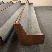 Beautiful, Comfortable Pews