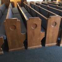 Church Pews in Chicago