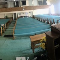39  12' Church pews and others