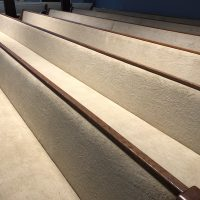 Padded Pews of Varios Lengths