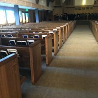 Used Pews in Walnut Creek CA