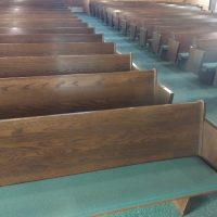 Used Church Pews
