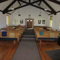 14 8' Pews with cushions