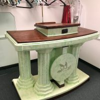 Beautiful Green Marble Pulpit